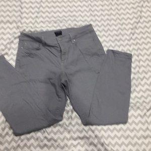 Denim - Ann Taylor Gray Curvy Skinny Jeans